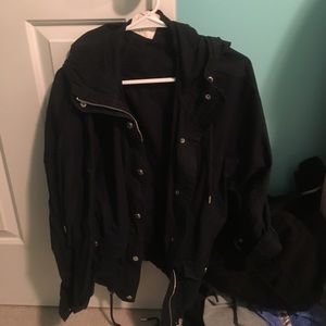 Abercrombie and Fitch jacket (navy)